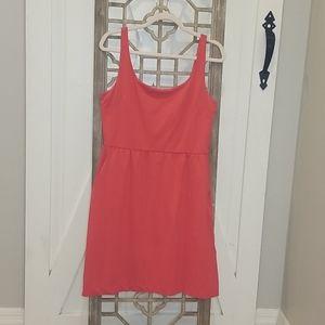 Orange/Pink dress